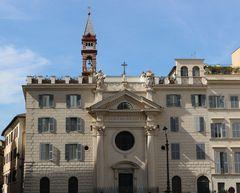 La chiesa di Santa Brigida....