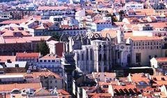 La Chiesa scoperchiata di Lisbona