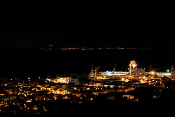 La Ciotat - By Night