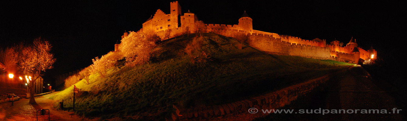 La citadelle de Carcassonne by Night
