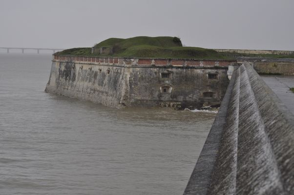 La citadelle du château d'Oleron
