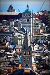 La città antica dall'alto