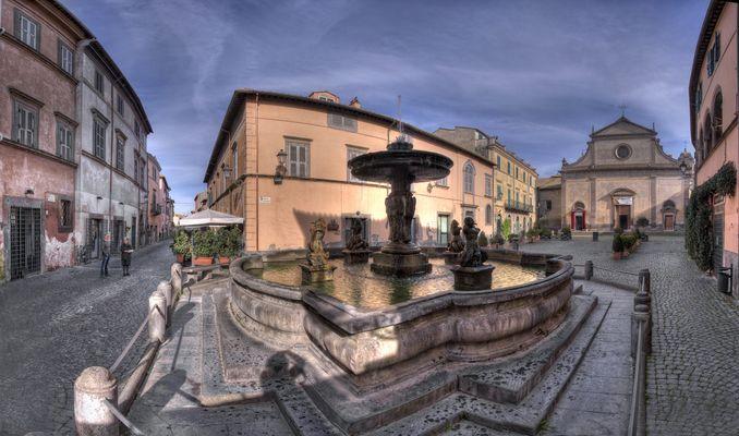 La citta' delle fontane ( Tuscania vt )