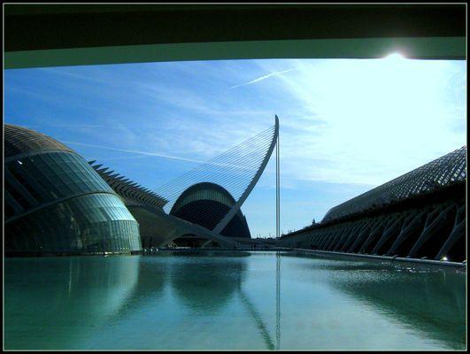 La città delle scienze e delle arti..Valencia