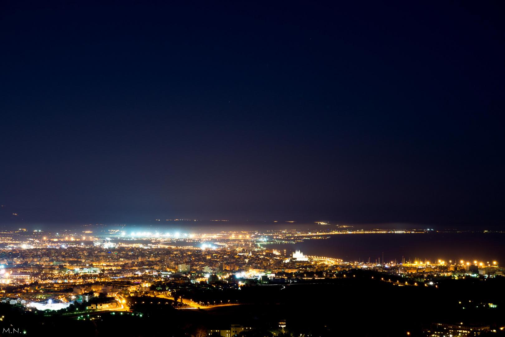 La ciudad nunca duerme, Palma de Mallorca