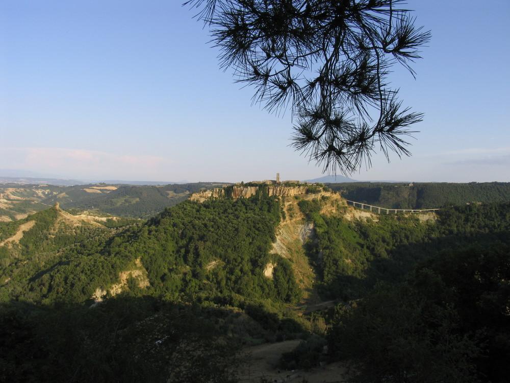 La Civita die Bagnoregio vicino Orvieto