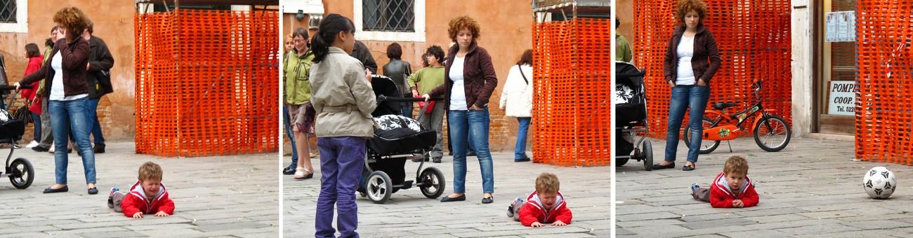 la colère. scène de la vie vénitienne.