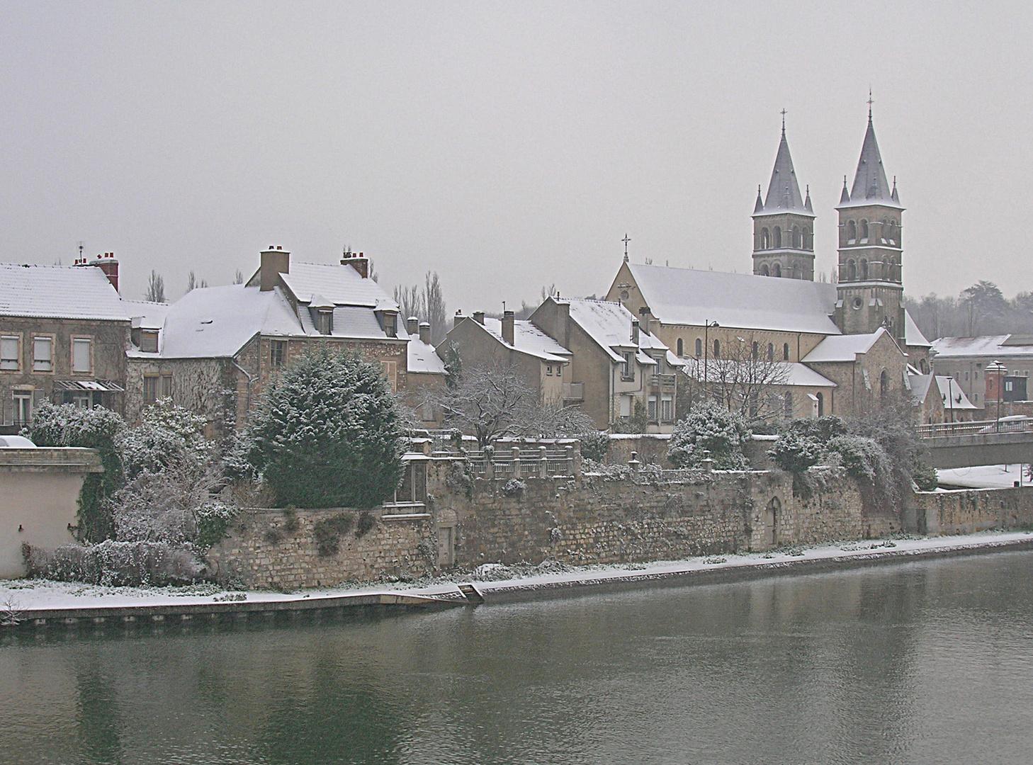 La collégiale Notre Dame, Melun
