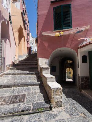 La Coricella ...e le sue scalinate