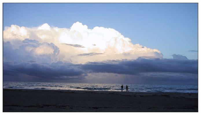 La Corse - nuages menaçants