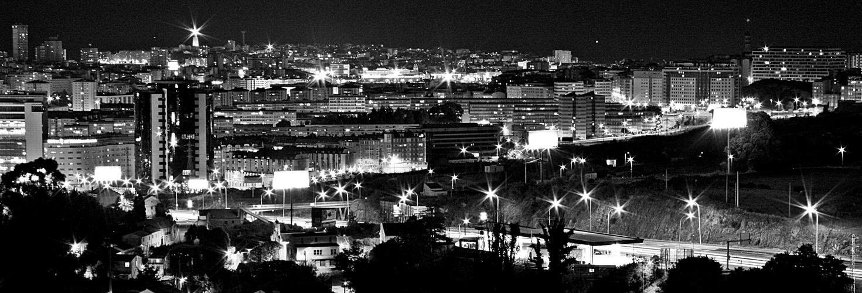 La Coruña noctuna