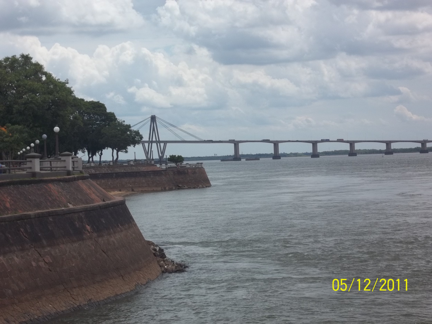 La costanera de Corrientes-capital