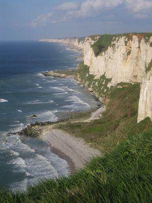 La côte d'Albâtre