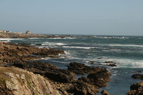 La côte sauvage de la presqu'île de Quiberon