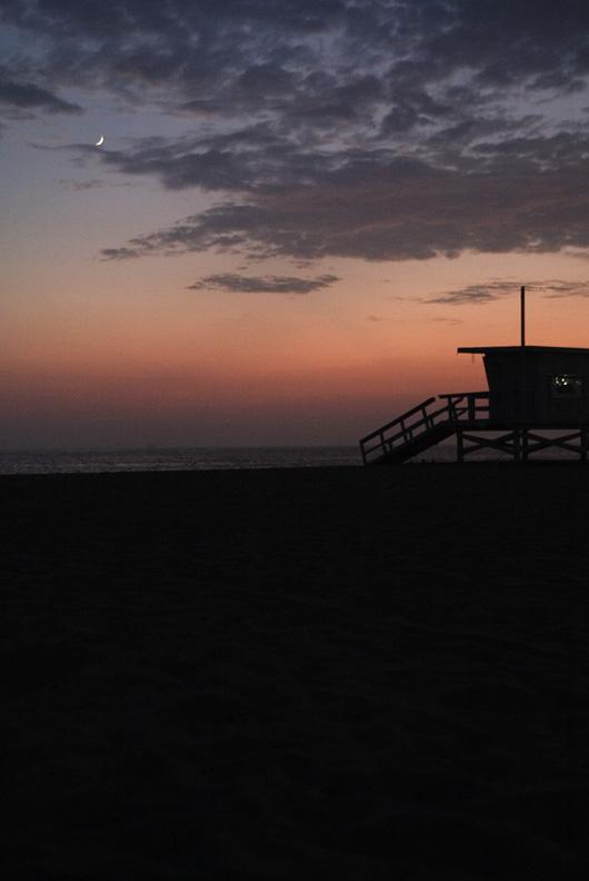 la county life guard sunset