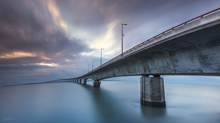 La courbe du pont