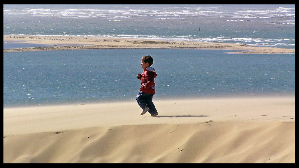 la course sur les dunes( Dylan )