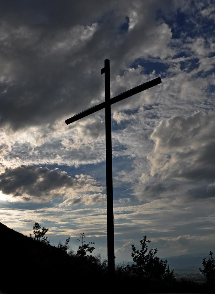 La Croce al Tramonto