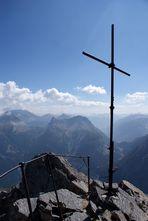 La croce sulla vetta