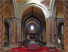 La croisée du transept et la nef vus du chœur