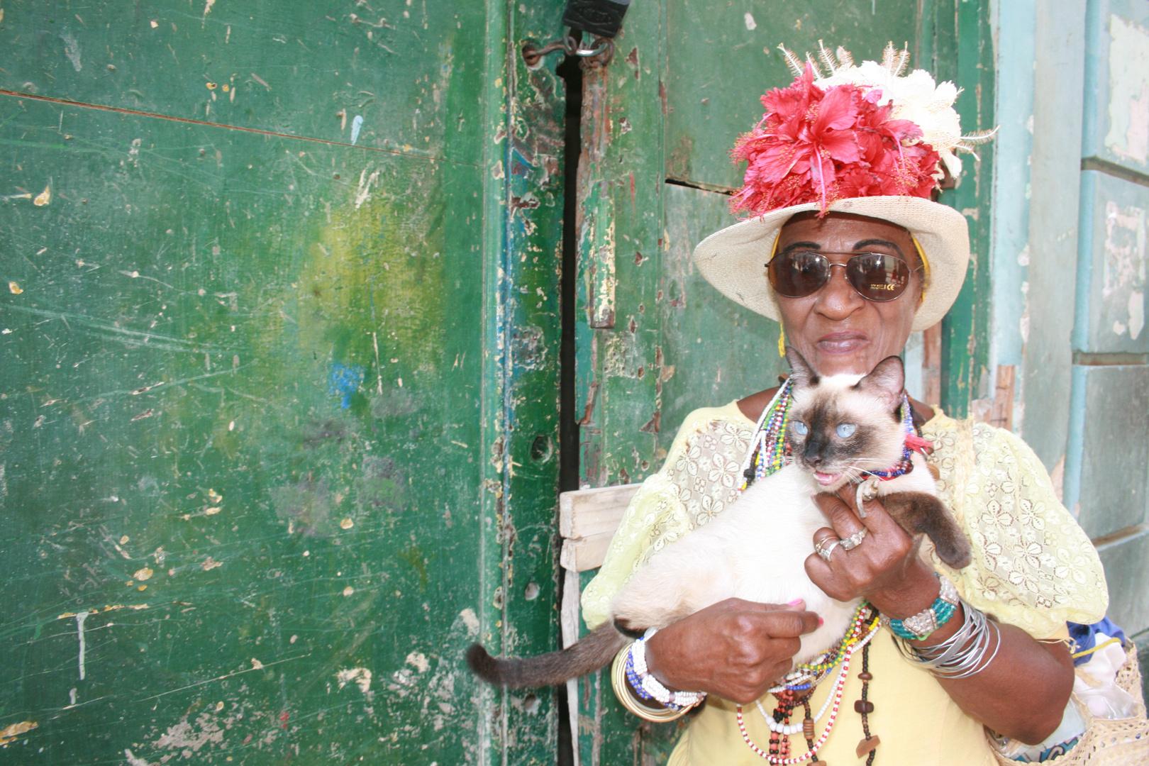 La cronista y el gato