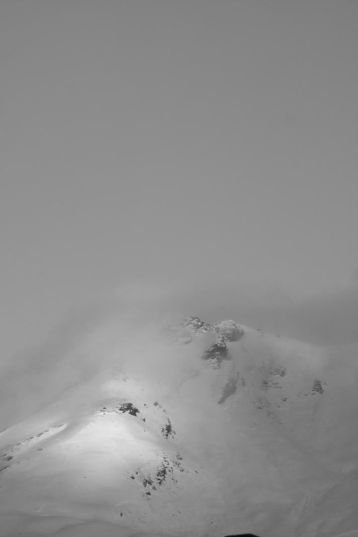La crête de Roche Blanche - Val d'Isère