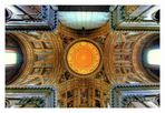 La cupola della Chiesa del Gesù Nuovo - Napoli