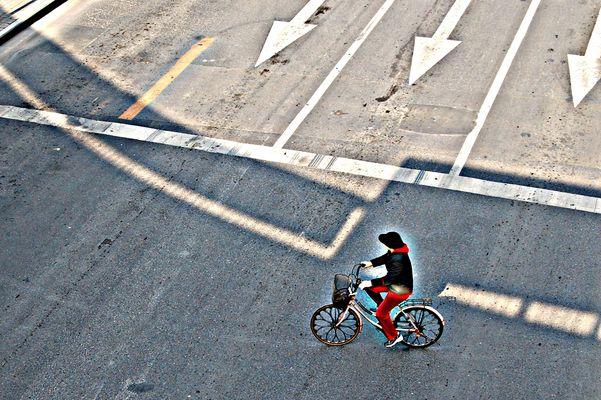 La Dame au vélo