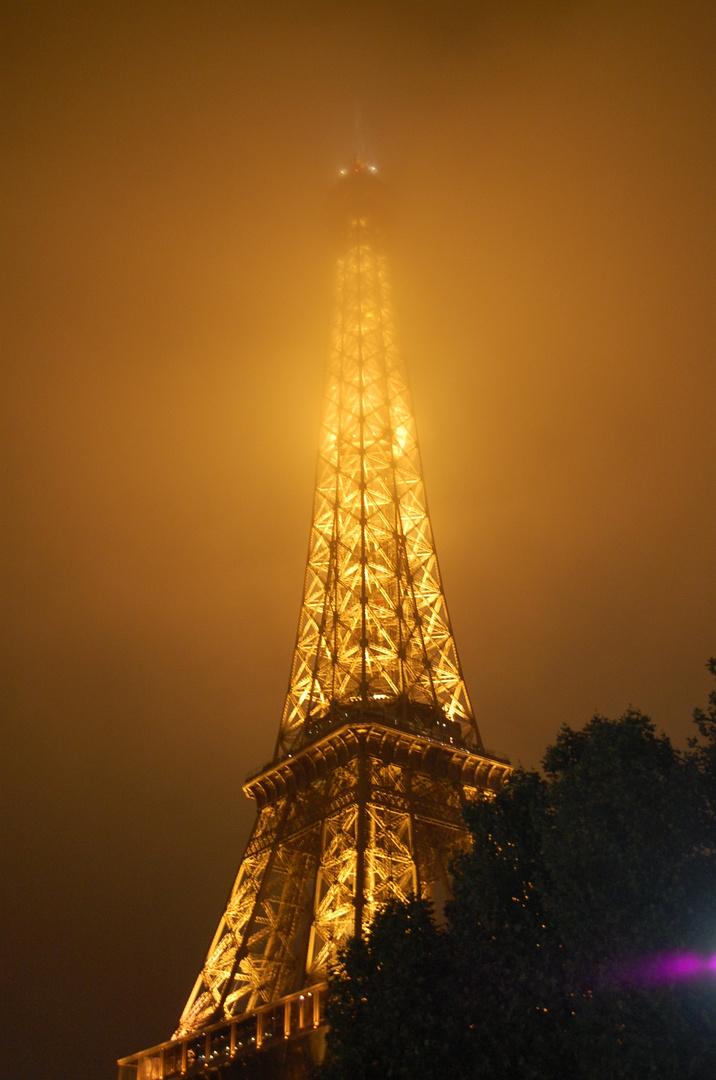 La dame couverte de brume