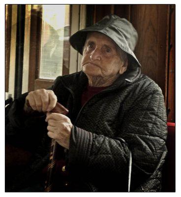 La dame du Tramway