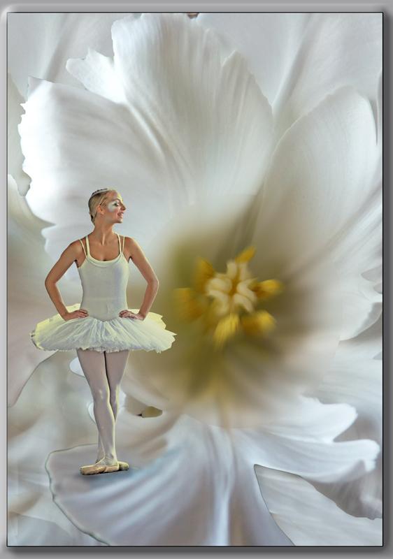 La danseuse en attente