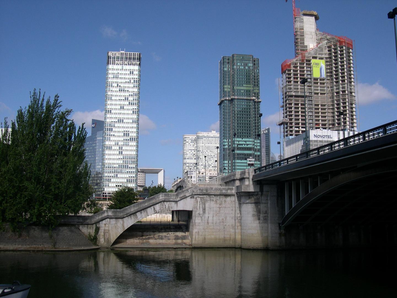 La Défense ( vu coté ) Neuilly