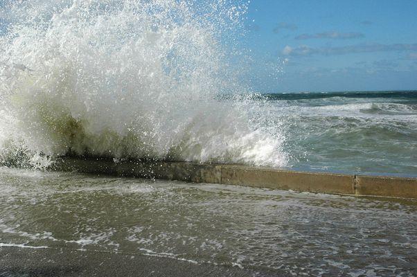 la digue de Wissant octobre 2008 (1)