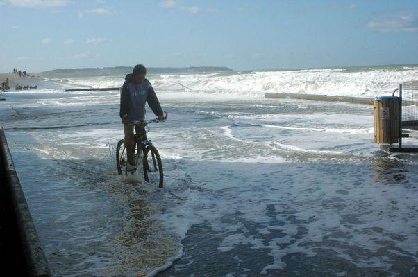 la digue de Wissant octobre 2008 (2)