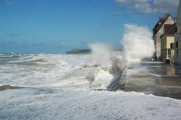 la digue de Wissant octobre 2008 (3)
