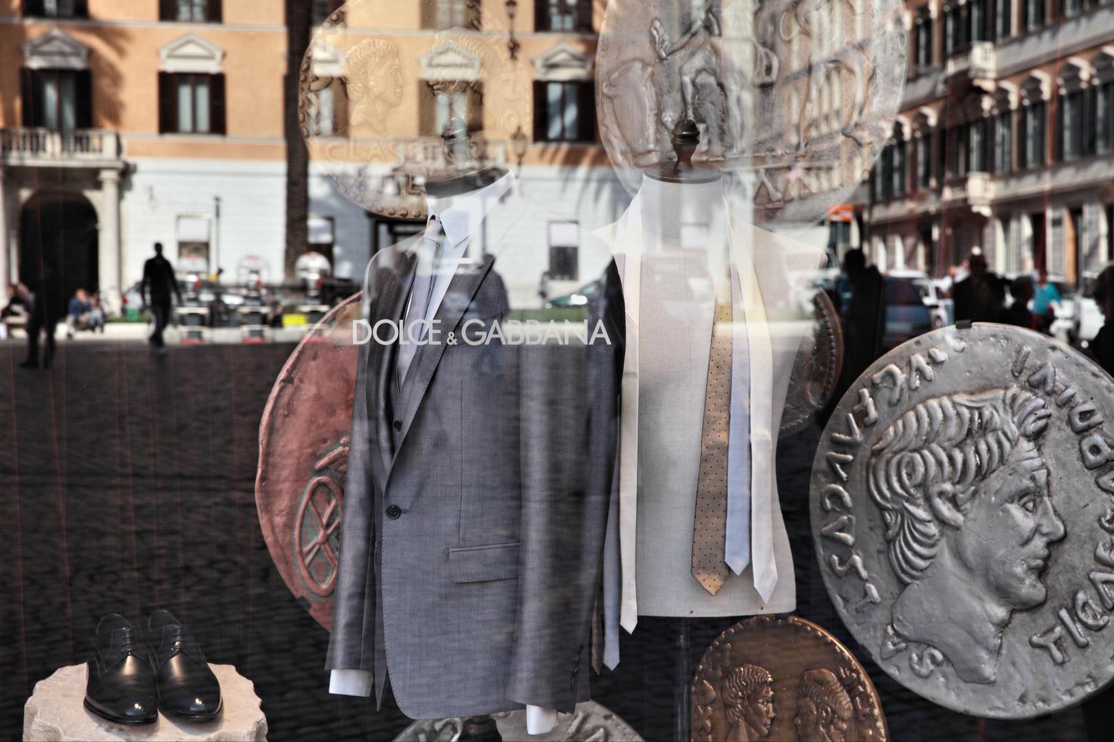 La dolce Vita con Dolce Gabbana.. (Römische Impressionen..)