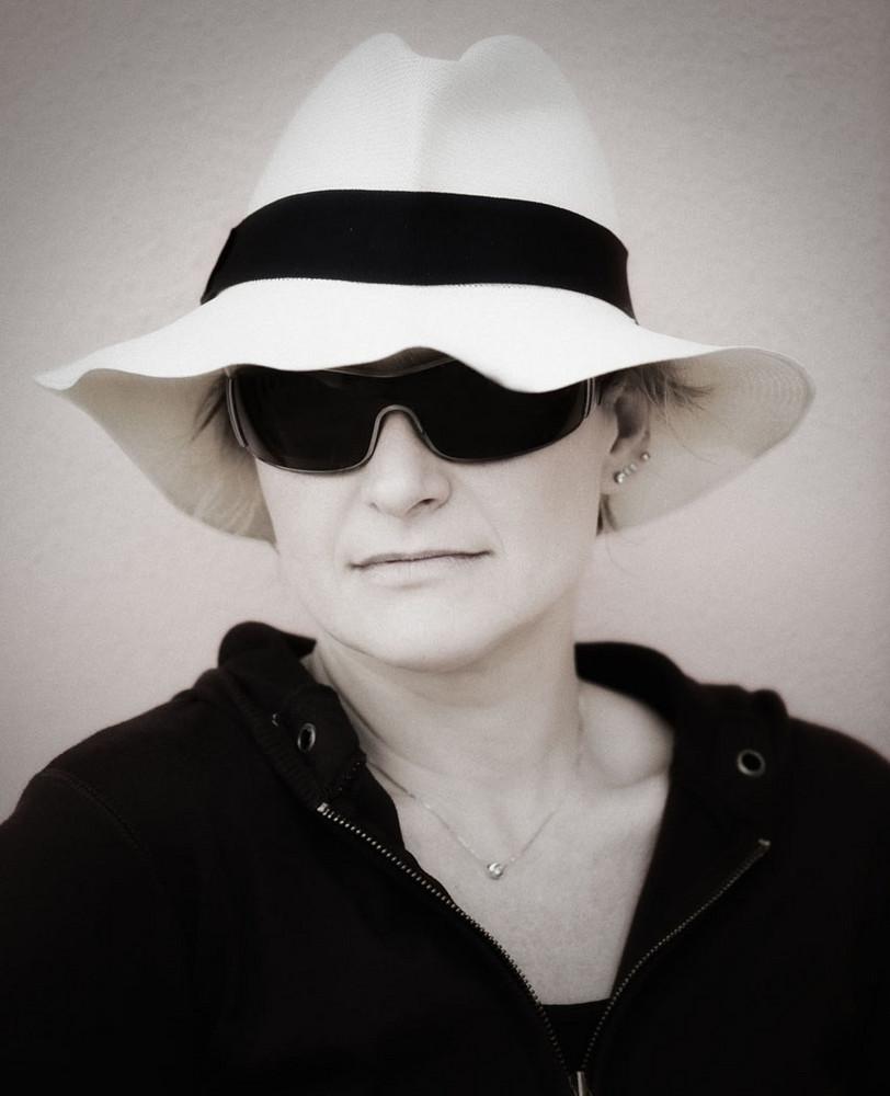 la donna col cappello