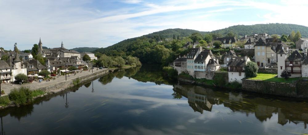 La Dordogne à Argentat (Corrèze)