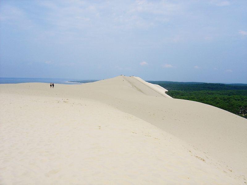 La dune du Pilat prise par le sud
