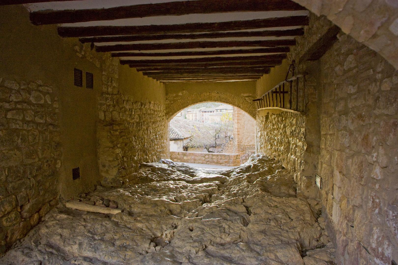La escalera - Alquezar (Huesca) 9
