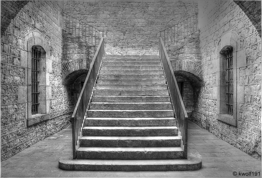 la escaleras II