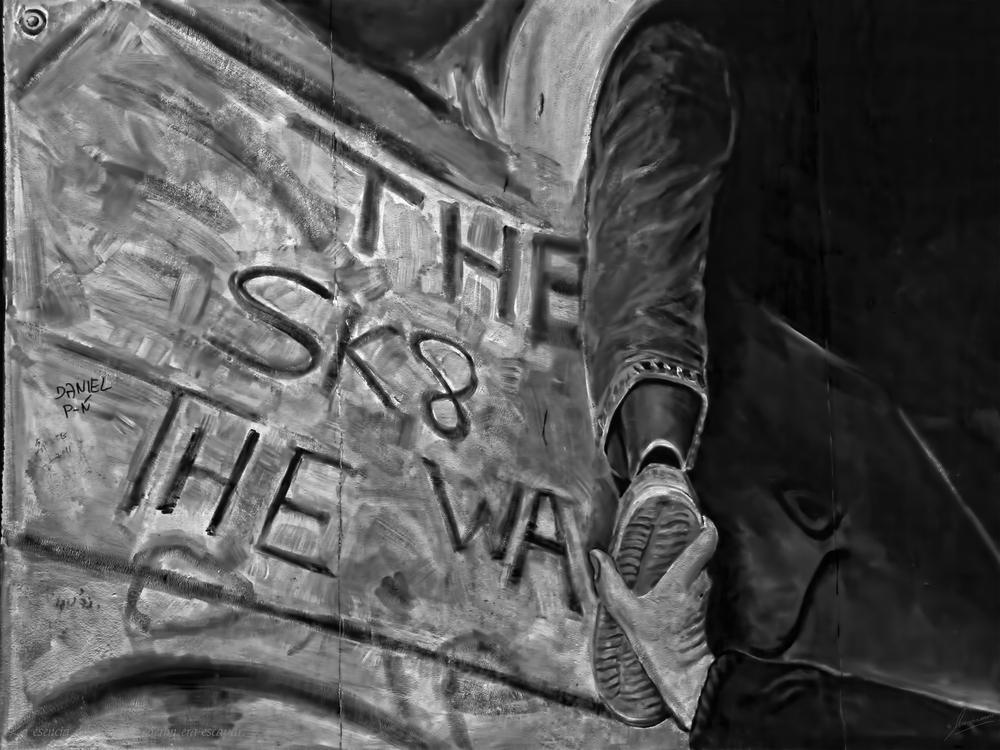 La esencia del muro de Berlin era escapar.
