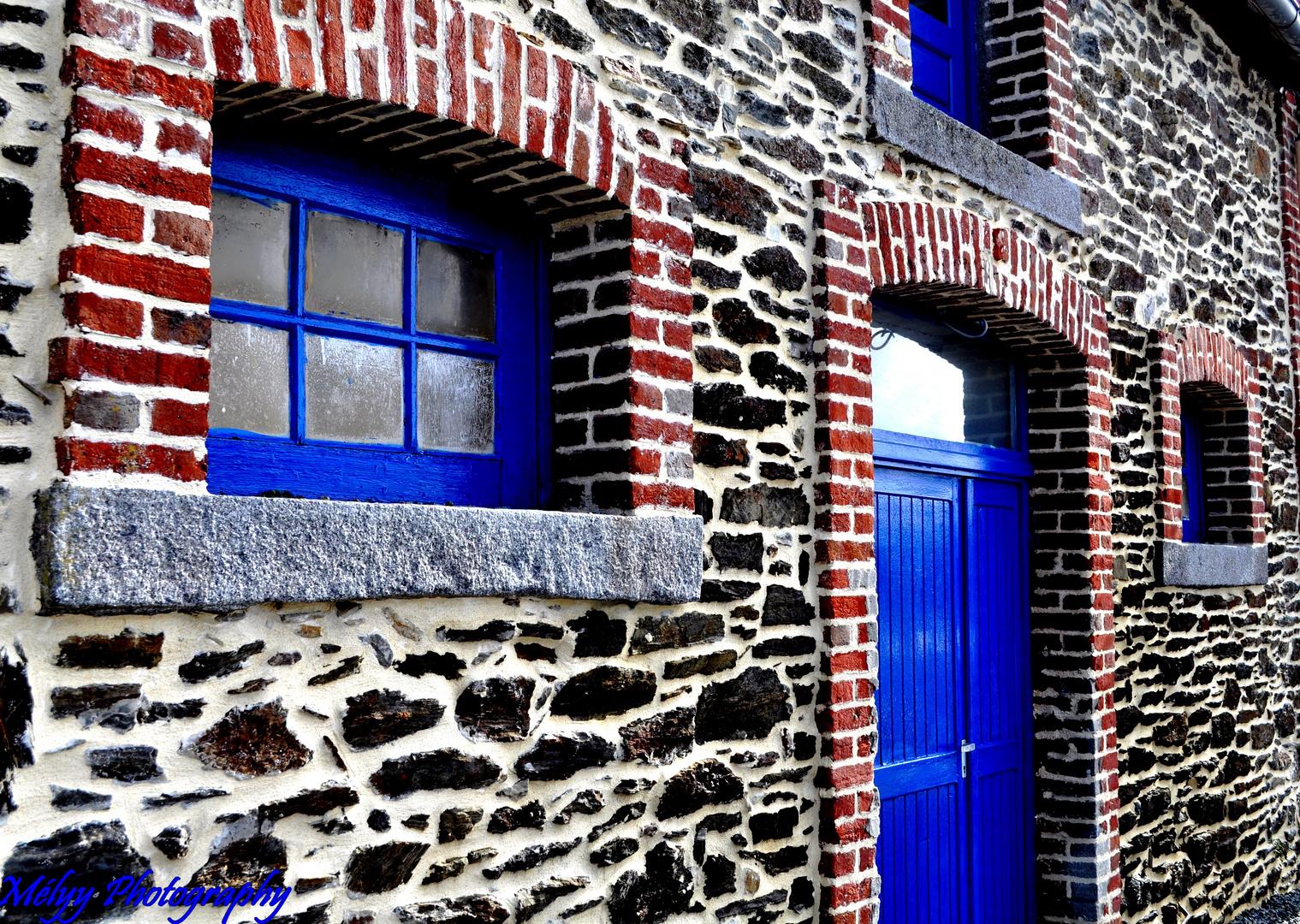 La façade bleue
