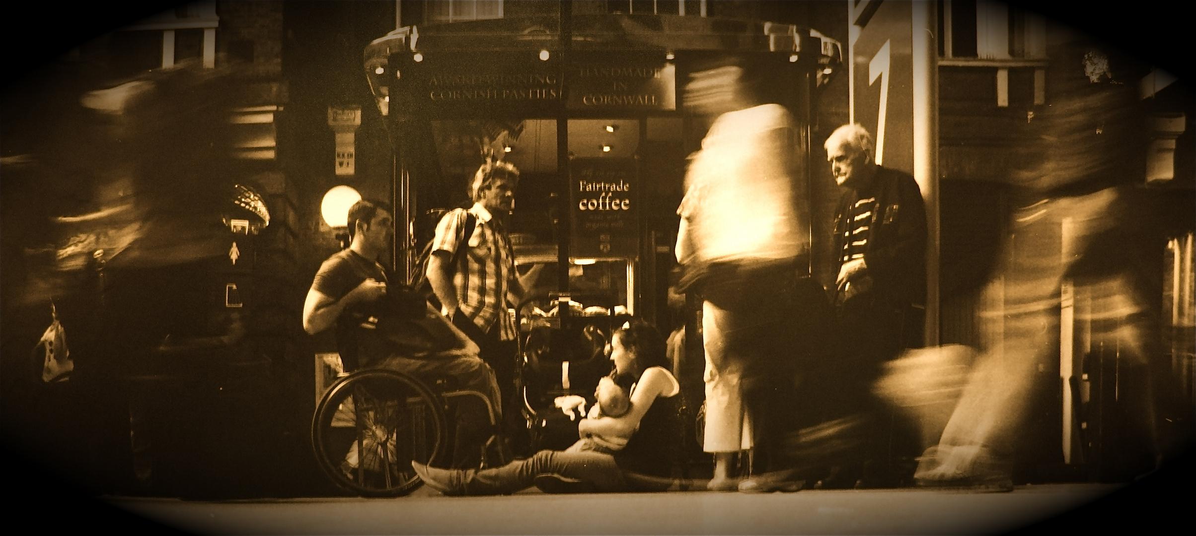 La Famille...gare de St Pancras...