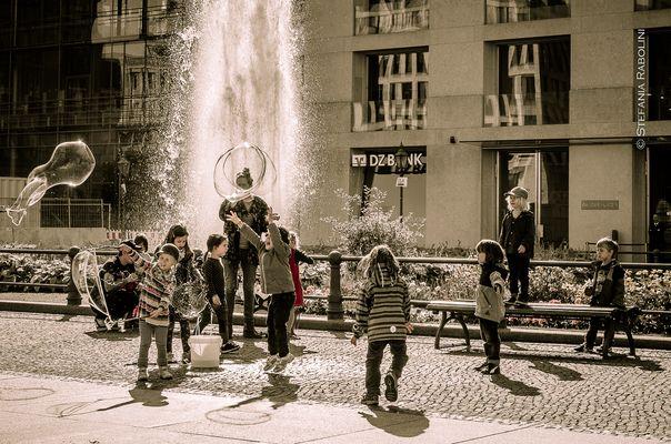 ... la felicità in una bolla ...