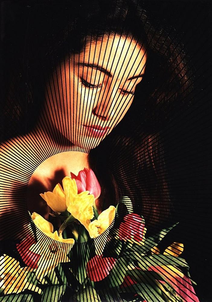 La Femme aux tulipes