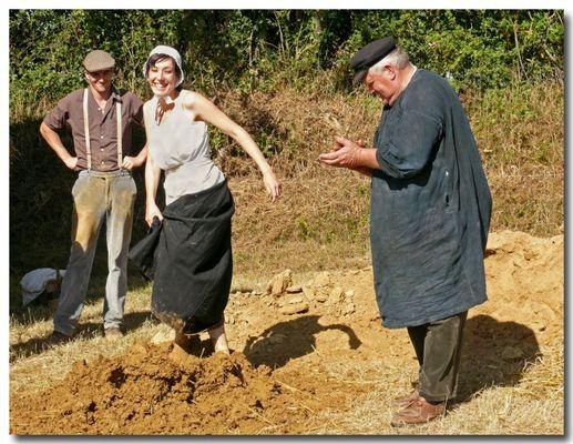 La femme dans le monde paysan (autrefois)