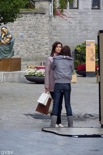 La femme est belge
