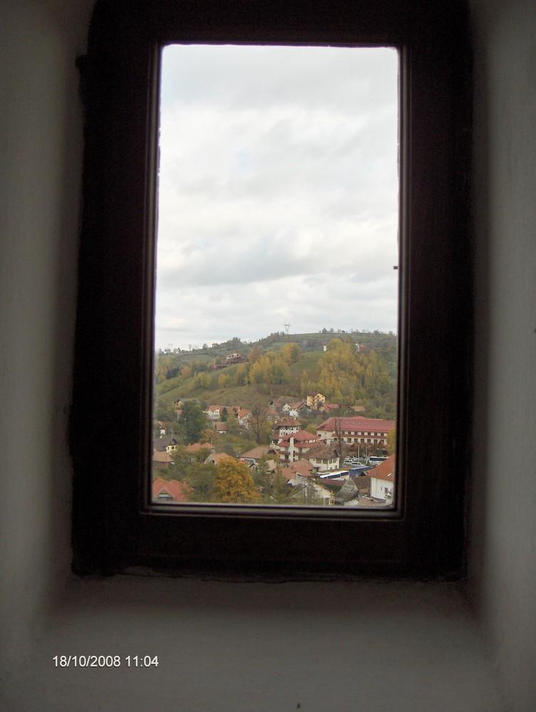 La fenetre de chateau Bran ( Vlad Dracul)