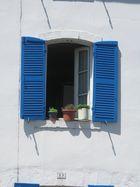 La fenêtre bleue